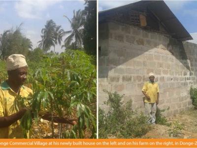 Mr. Ali Saleh Machano realizes USD 525 every season from cassava