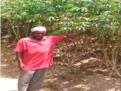Foum Makame uses cassava proceeds to educate his three sons