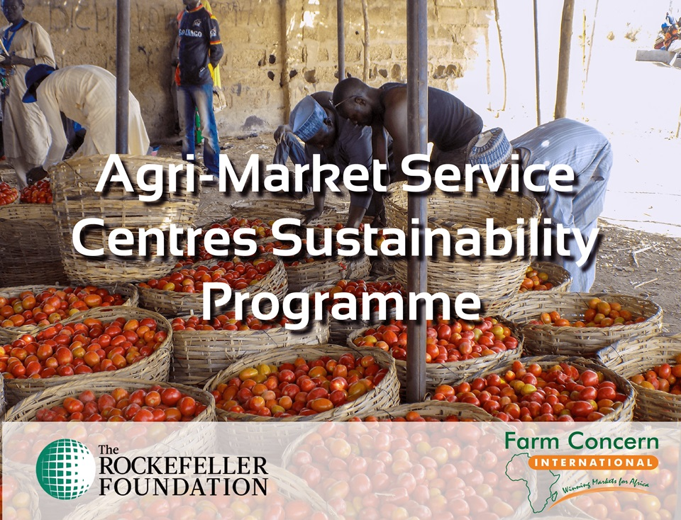 Rockefeller Foundation has funded FCI to develop and implement an enterprise upgrading strategy for Commodity Aggregation Centres graduated into sustainable Agri-Market Services Centres under YieldWise Initiative in Nigeria  Kenya and Tanzania.