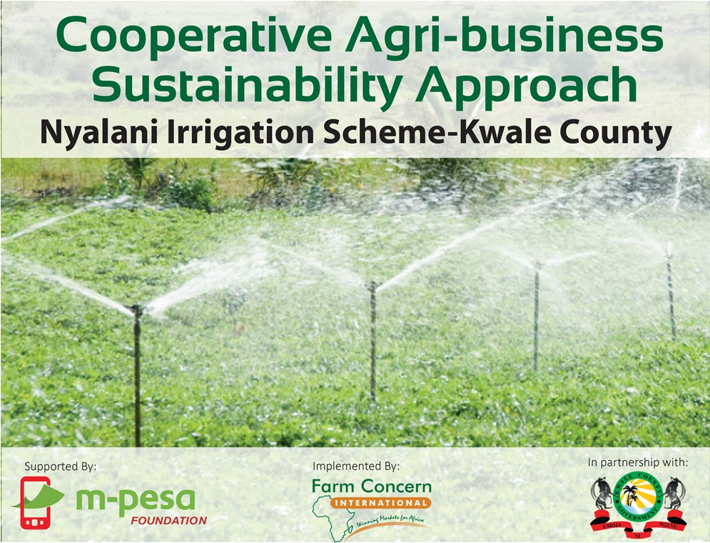 KENYA | Cooperative Agri-business Sustainability Approach- Nyalani irrigation scheme in Kwale County
