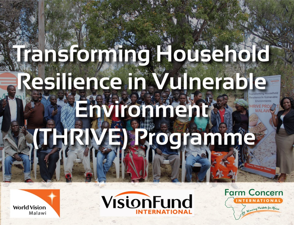 MALAWI | Transforming Household Resilience in Vulnerable Environment (THRIVE) Programme